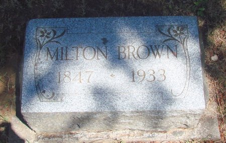 BROWN, MILTON EDWARD - Polk County, Oregon | MILTON EDWARD BROWN - Oregon Gravestone Photos
