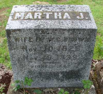 BROWN, MARTHA J - Polk County, Oregon | MARTHA J BROWN - Oregon Gravestone Photos