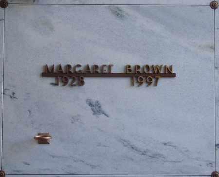 BROWN, MARGARET - Polk County, Oregon | MARGARET BROWN - Oregon Gravestone Photos