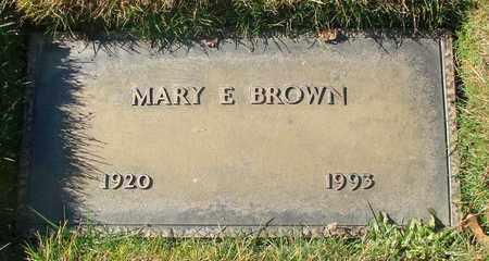 BROWN, MARY ELLEN - Polk County, Oregon   MARY ELLEN BROWN - Oregon Gravestone Photos