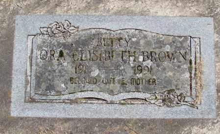 BROWN, ORA ELISABETH - Polk County, Oregon | ORA ELISABETH BROWN - Oregon Gravestone Photos