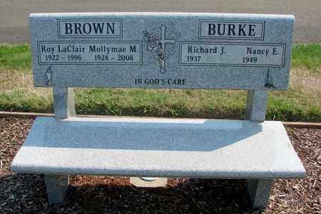 BROWN, ROY LACLAIR - Polk County, Oregon | ROY LACLAIR BROWN - Oregon Gravestone Photos