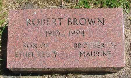 BROWN, ROBERT - Polk County, Oregon | ROBERT BROWN - Oregon Gravestone Photos