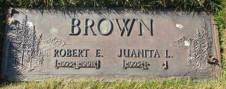 BROWN, JUANITA L - Polk County, Oregon | JUANITA L BROWN - Oregon Gravestone Photos