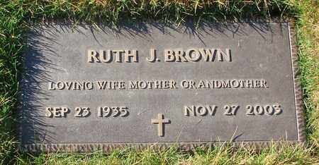 BROWN, RUTH JEANETTE - Polk County, Oregon | RUTH JEANETTE BROWN - Oregon Gravestone Photos