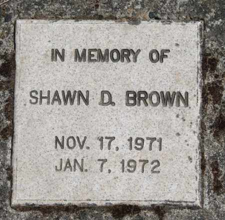 BROWN, SHAWN D - Polk County, Oregon | SHAWN D BROWN - Oregon Gravestone Photos