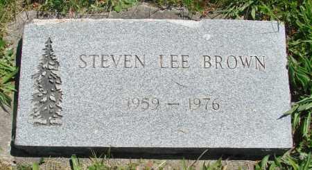 BROWN, STEVEN LEE - Polk County, Oregon | STEVEN LEE BROWN - Oregon Gravestone Photos