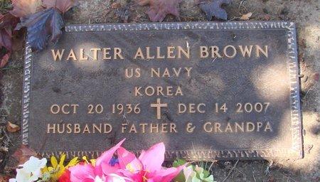 BROWN, WALTER ALLEN - Polk County, Oregon | WALTER ALLEN BROWN - Oregon Gravestone Photos