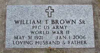 BROWN, WILLIAM T - Polk County, Oregon | WILLIAM T BROWN - Oregon Gravestone Photos