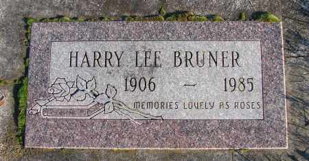 BRUNER, HARRY LEE - Polk County, Oregon | HARRY LEE BRUNER - Oregon Gravestone Photos
