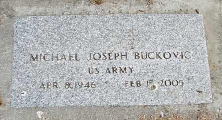BUCKOVIC, MICHAEL JOSEPH - Polk County, Oregon | MICHAEL JOSEPH BUCKOVIC - Oregon Gravestone Photos