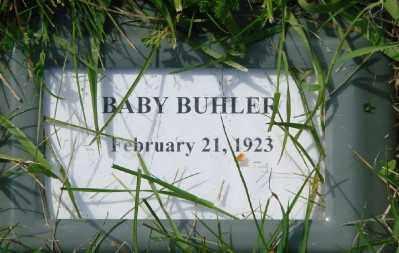 BUHLER, BABY - Polk County, Oregon | BABY BUHLER - Oregon Gravestone Photos