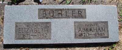 BUHLER, ELIZABETH - Polk County, Oregon | ELIZABETH BUHLER - Oregon Gravestone Photos