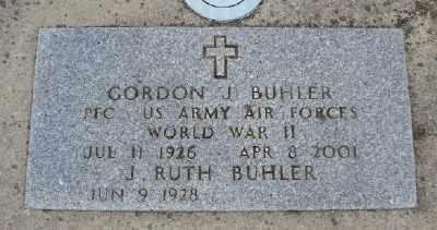 BUHLER (WWII), GORDON J - Polk County, Oregon | GORDON J BUHLER (WWII) - Oregon Gravestone Photos