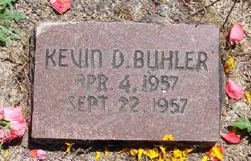 BUHLER, KEVIN D - Polk County, Oregon   KEVIN D BUHLER - Oregon Gravestone Photos