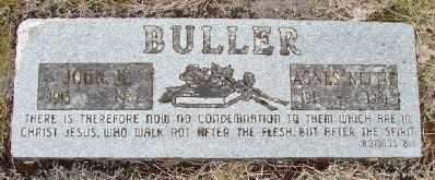 BULLER, AGNES NETTIE - Polk County, Oregon | AGNES NETTIE BULLER - Oregon Gravestone Photos