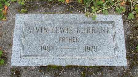 BURBANK, ALVIN LEWIS - Polk County, Oregon | ALVIN LEWIS BURBANK - Oregon Gravestone Photos