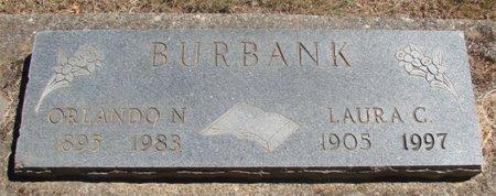 BURBANK, ORLANDO NATHANIEL - Polk County, Oregon | ORLANDO NATHANIEL BURBANK - Oregon Gravestone Photos