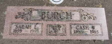 BURCH, SARAH LEONA - Polk County, Oregon | SARAH LEONA BURCH - Oregon Gravestone Photos