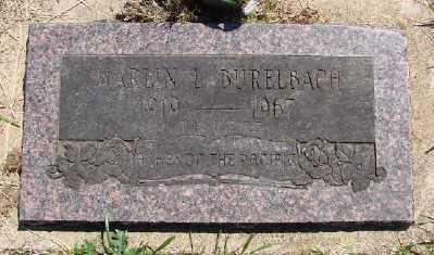 BURELBACH, MARLIN L - Polk County, Oregon | MARLIN L BURELBACH - Oregon Gravestone Photos