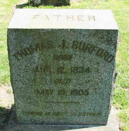 BURFORD, THOMAS J - Polk County, Oregon   THOMAS J BURFORD - Oregon Gravestone Photos