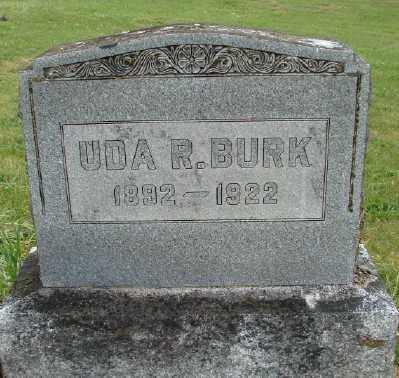 BURK, UDA R - Polk County, Oregon   UDA R BURK - Oregon Gravestone Photos