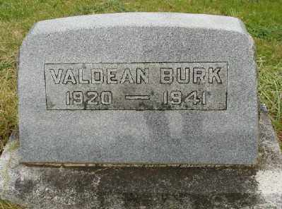 BURK, VALDEAN - Polk County, Oregon | VALDEAN BURK - Oregon Gravestone Photos