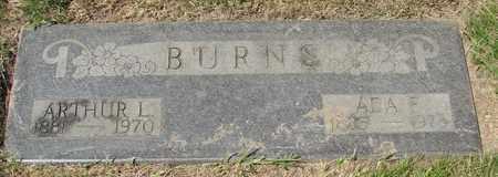 BURNS, ADA F - Polk County, Oregon | ADA F BURNS - Oregon Gravestone Photos