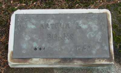 BURNS, ARTHUR L - Polk County, Oregon | ARTHUR L BURNS - Oregon Gravestone Photos