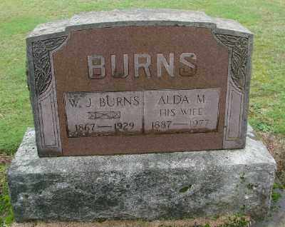 BURNS, ALDA M - Polk County, Oregon | ALDA M BURNS - Oregon Gravestone Photos