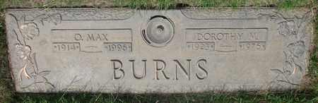 BURNS, DOROTHY M - Polk County, Oregon | DOROTHY M BURNS - Oregon Gravestone Photos