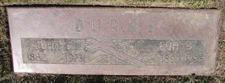 BURNS, JOHN L - Polk County, Oregon   JOHN L BURNS - Oregon Gravestone Photos