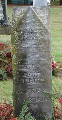 BURNS, JOHN H - Polk County, Oregon | JOHN H BURNS - Oregon Gravestone Photos