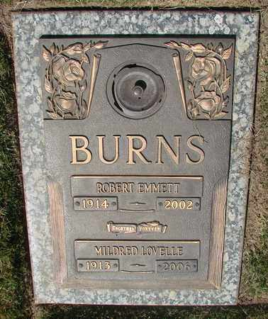 BURNS, ROBERT EMMETT - Polk County, Oregon | ROBERT EMMETT BURNS - Oregon Gravestone Photos