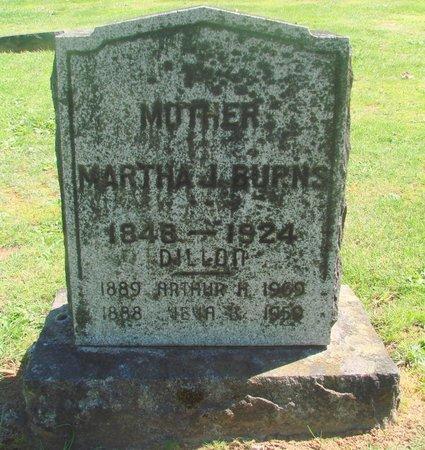 BURNS, MARTHA JANE - Polk County, Oregon   MARTHA JANE BURNS - Oregon Gravestone Photos