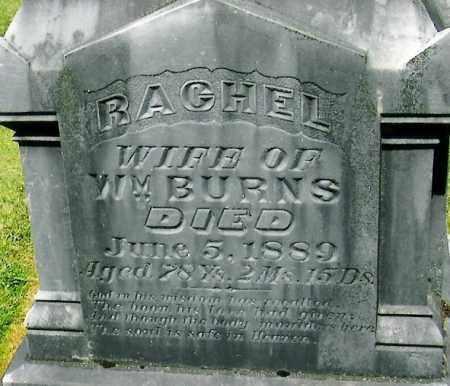 BURNS, RACHEL - Polk County, Oregon | RACHEL BURNS - Oregon Gravestone Photos