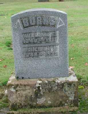 BURNS, DRUCILLA - Polk County, Oregon | DRUCILLA BURNS - Oregon Gravestone Photos
