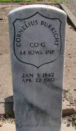 BURRIGHT (CW), CORNELIUS WILLIAM - Polk County, Oregon   CORNELIUS WILLIAM BURRIGHT (CW) - Oregon Gravestone Photos