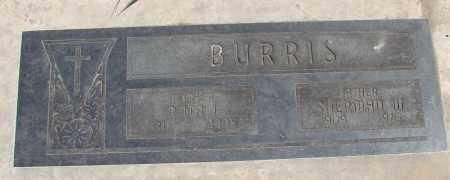 BURRIS, SHERMAN W - Polk County, Oregon   SHERMAN W BURRIS - Oregon Gravestone Photos