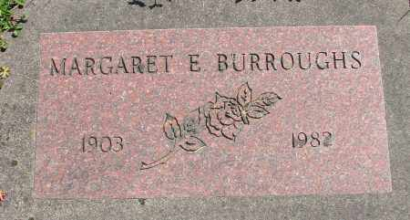 BURROUGHS, MARGARET E - Polk County, Oregon | MARGARET E BURROUGHS - Oregon Gravestone Photos