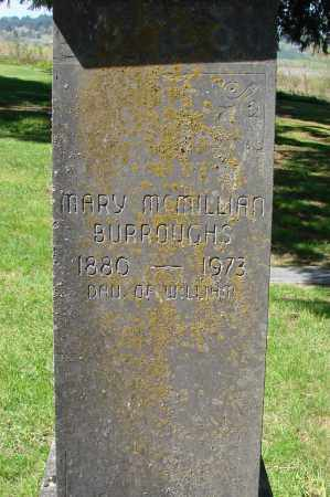 MCMILLIAN BURROUGHS, MARY - Polk County, Oregon | MARY MCMILLIAN BURROUGHS - Oregon Gravestone Photos
