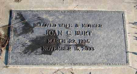 BURT, JOAN C - Polk County, Oregon | JOAN C BURT - Oregon Gravestone Photos