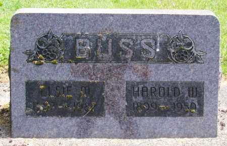 BUSS, HAROLD WILLIAM - Polk County, Oregon | HAROLD WILLIAM BUSS - Oregon Gravestone Photos