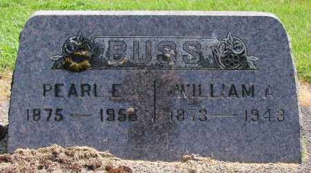 BUSS, WILLIAM AMBROSE - Polk County, Oregon | WILLIAM AMBROSE BUSS - Oregon Gravestone Photos