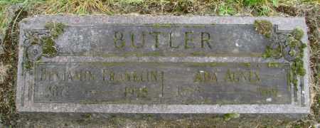 BUTLER, ADA AGNES - Polk County, Oregon | ADA AGNES BUTLER - Oregon Gravestone Photos