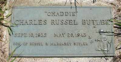 BUTLER, CHARLES RUSSEL - Polk County, Oregon | CHARLES RUSSEL BUTLER - Oregon Gravestone Photos