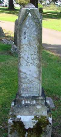 BUTLER, EVA A - Polk County, Oregon   EVA A BUTLER - Oregon Gravestone Photos