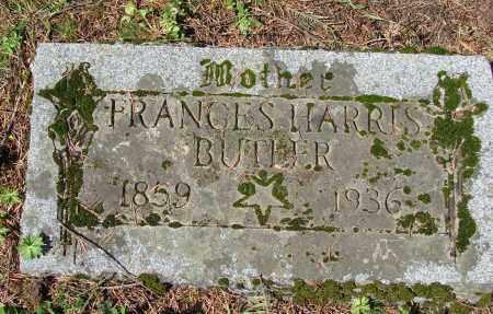 HARRIS BUTLER, FRANCES - Polk County, Oregon | FRANCES HARRIS BUTLER - Oregon Gravestone Photos