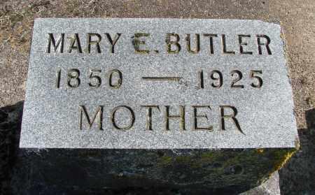 WEATHERSPOON BUTLER, MARY ELIZABETH - Polk County, Oregon | MARY ELIZABETH WEATHERSPOON BUTLER - Oregon Gravestone Photos