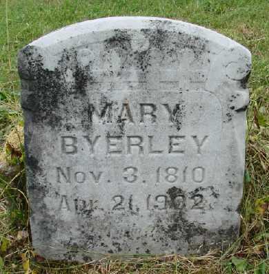 BYERLEY, MARY - Polk County, Oregon | MARY BYERLEY - Oregon Gravestone Photos